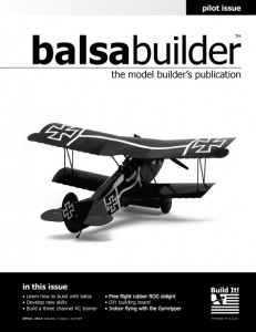 BalsaBuilder Quarterly April 2015